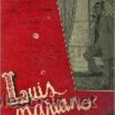 Discos de vinilo: LUIS MARIANO 10¨ (25 CTMS.) DEL SELLO LA VOZ DE SU AMO EDITADO EN FRANCIA. Lote 40392272