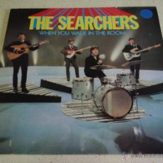 Discos de vinilo: THE SEARCHERS ( WHEN YOU WALK IN THE ROOM ) ENGLAND-1965 LP33 PYE RECORDS. Lote 40394113