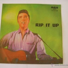 Discos de vinilo: ELVIS PRESLEY SINGLE VINILO RIP IT UP AUSTRALIA RARO. Lote 97696799