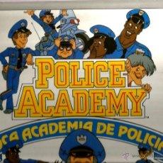 Discos de vinilo: LP LOCA ACADEMIA DE POLICIA ( CANTAN LOS GRUPOS INFANTILES SESAMO, NINS, REGALIZ Y POPITOS). Lote 40397913