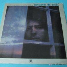 Discos de vinilo: JOAN MANUEL SERRAT. CANCIONES DE AMOR. Lote 40397931