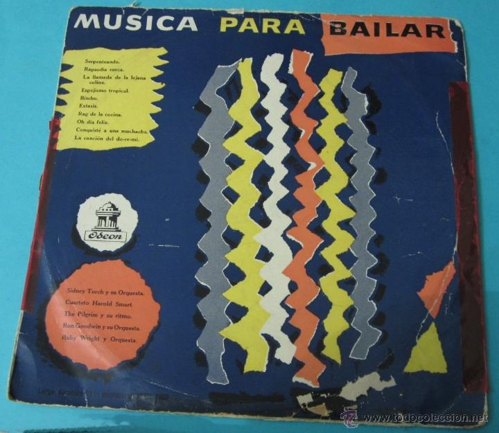 MÚSICA PARA BAILAR. ODEON. DIÁMETRO 25 CM (Música - Discos - LP Vinilo - Orquestas)