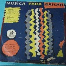 Discos de vinilo: MÚSICA PARA BAILAR. ODEON. DIÁMETRO 25 CM. Lote 40398211