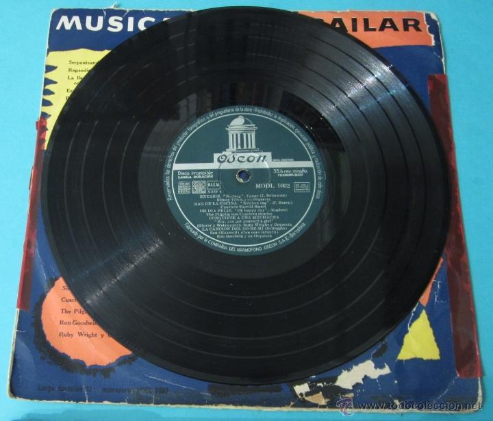 Discos de vinilo: MÚSICA PARA BAILAR. ODEON. DIÁMETRO 25 CM - Foto 3 - 40398211