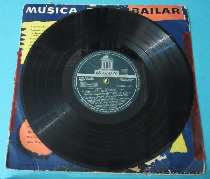 Discos de vinilo: MÚSICA PARA BAILAR. ODEON. DIÁMETRO 25 CM - Foto 4 - 40398211