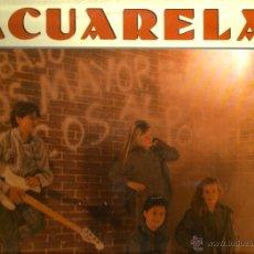 Discos de vinilo: LP ACUARELA , GRUPO INFANTIL : INCLUYE MI VIDA CAMBIO ( STING : EVERY BREATH YOU TAKE ) . Lote 40399178