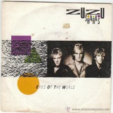 Discos de vinilo: ZUZU SHARKS - EYES OF THE WORLD / AFTER THE SHIPS GONE DOWN, EDITADO POR EMI EN 1984. Lote 40399980