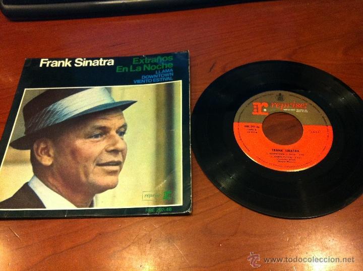 FRANK SINATRA - EXTRAÑOS EN LA NOCHE - EP 1966 - (Música - Discos de Vinilo - EPs - Jazz, Jazz-Rock, Blues y R&B)