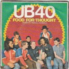 Discos de vinilo: UB 40 - FOOD FOR THOUGHT - KING, EDITADO POR GRADUATE RECORDS EN 1980. Lote 40400075