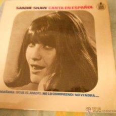 Discos de vinilo: SANDIE SHAW-EP MAÑANA +3-1966. Lote 40401581