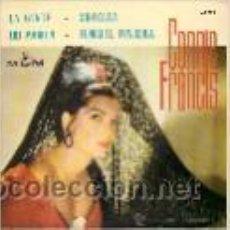 Discos de vinilo: CONNIE FRANCIS EP SELLO MGM AÑO 1963. Lote 40410621