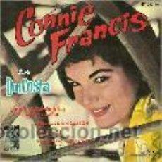 Discos de vinilo: CONNIE FRANCIS EP SELLO MGM AÑO 1962 CANTA EN ESPAÑOL. Lote 40410638