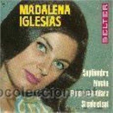 Discos de vinilo: MADALENAS IGLESIAS EP SELLO BELTER AÑO 1966. Lote 40410702