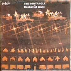 Discos de vinilo: THE PENTANGLE & BASKET OF LIGHT - THE PENTANGLE - 2 LP GUIMBARDA ZAFIRO CFE 1980 - ED. ESPAÑOLA. Lote 40411094