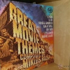 Discos de vinilo: GREAT MOVIE CLASSIC THEMES COMPOSED BY MIKLOS ROZSA 1963. Lote 40412258
