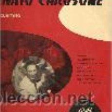 Discos de vinilo: RENATO CAROSONE 10¨ (25 CTMS) SELLO PATHE AÑO 1958. Lote 40416049