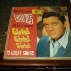 Discos de vinilo: ELVIS PRESLEY LP GIRLS, GIRLS, GIRLS SOUNTRACK RECORDING. Lote 40418849