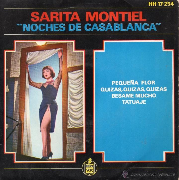 SARITA MONTIEL, EP, BESAME MUCHO + 3, AÑO 1963 (Música - Discos de Vinilo - EPs - Bandas Sonoras y Actores)