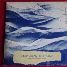 Discos de vinilo: SARDANES DE JOSEP VICENS I JULI XAXU LP 1978 EXCELENTE. Lote 40423708