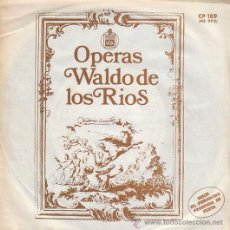 Discos de vinilo: WALDO DE LOS RIOS, OPERAS: NABUCO, ELIXIR DE AMOR, ORQUESTA MANUEL DE FALLA Y COROS, HISPAVOX 1973. Lote 40426736