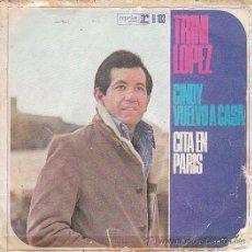 Discos de vinilo: TRINI LOPEZ - CINDY, VUELVO A CASA - CITA EN PARIS, EDITADO POR REPRISE EN 1966. Lote 40427091