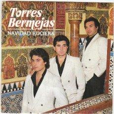 Discos de vinilo: TORRES BERMEJAS - NAVIDAD ROCIERA. SINGLE DEL SELLO VIRGIN DEL AÑO 1.987 (VER CONTENIDO). Lote 40427635
