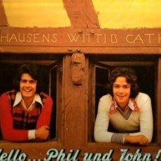 Discos de vinilo: LP HELLO...PHIL UND JOHN . Lote 40427837