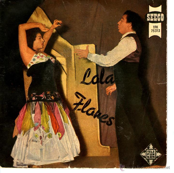 ¡OLE! LOLA FLORES - LA NANA (Música - Discos de Vinilo - EPs - Flamenco, Canción española y Cuplé)