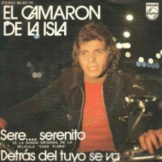 Discos de vinilo: CAMARÓN - SERE... SERENITO - 1973. Lote 58285858