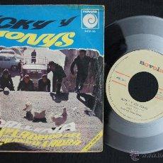 Discos de vinilo: MICKY Y LOS TONYS 1966. Lote 40432830
