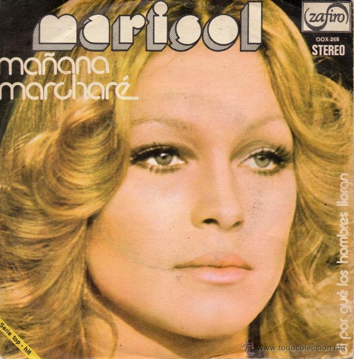 MARISOL, SG, MAÑANA MARCHARÉ + 1, AÑO 1974 (Música - Discos - Singles Vinilo - Solistas Españoles de los 70 a la actualidad)