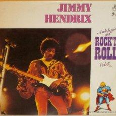 Discos de vinilo: JIMMY HENDRIX - ANTOLOGIA DEL ROCK N ROLL VOL 3 SPAIN - PHONIC - 1978. Lote 40449548