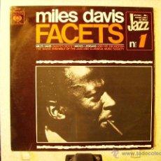 Discos de vinilo: MILES DAVIS.FACETS...DIFICIL 1ª EDICION ESPAÑOLA. Lote 40450611