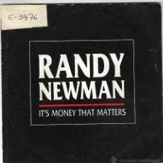 Discos de vinilo: RANDY NEWMAN - IT'S MONEY THAT MATTERS, EDITADO POR REPRISE RECORDS EN 1988. Lote 40451313