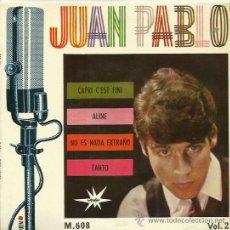 Discos de vinilo: JUAN PABLO EP SELLO MARFER AÑO 1965. Lote 40453804