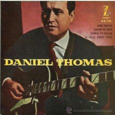 Discos de vinilo: DANIEL THOMAS EP SELLO ZAFIRO AÑO 1960. Lote 40453918