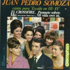 Discos de vinilo: JUAN PEDRO SOMOZA EP SELLO DISCOPHON AÑO 1964. Lote 40454008