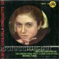 Discos de vinilo: GIGLIOLA CINQUETTI EP SELLO HISPAVOX AÑO 1964. Lote 40454797