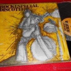 Discos de vinilo: ROCKESPECIAL DISCOTECA LP 1978 DISCO RAMA PROMO SOLO! BURNING TEQUILA MORIS RARO!. Lote 40455063