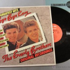 Discos de vinilo: EVERLY BROTHERS, THE – 20 GREATEST HITS / BYE BYE LOVE - LP SR ? VINILO. Lote 40459581