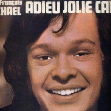 Discos de vinilo: JEAN FRANÇOIS MICHEL LP 33 ADIEU JOLIE CANDY ODEON 1970. Lote 40459933