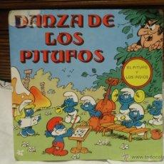 Discos de vinilo: RARO DISCO LA DANZA DE LOS PITUFOS. Lote 54381193