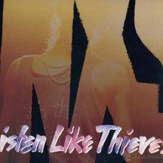Discos de vinilo: INX LP 33 LISTEN LIKE THIEVES CARPETA DOBLE PORTADA. Lote 40460168