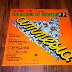 Discos de vinilo: AMNESIA THE SOUND OF DOUBLE FM DISCO MAGIC EP VINILO DANCE 1992 CASI NUEVO V4. Lote 88828147