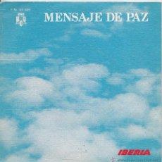 Discos de vinilo: COROS Y RONDALLAS DE LA PARROQUIA DE SAN LORENZO (CORDOBA) (IBERIA LINEAS AEREAS INTERNACIONALES DE. Lote 40463631