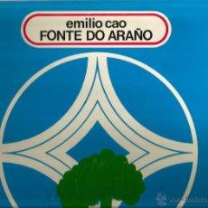 Discos de vinilo: LP EMILIO CAO : FONTE DO ARAÑO. Lote 42922383