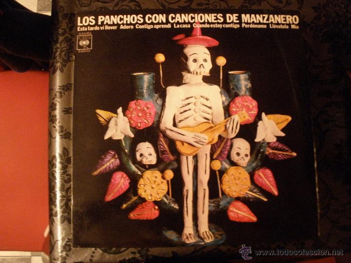 LOS PANCHOS - CON CANCIONES DE MANZANERO (Música - Discos - LP Vinilo - Grupos y Solistas de latinoamérica)