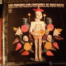 Discos de vinilo: LOS PANCHOS - CON CANCIONES DE MANZANERO. Lote 40474275