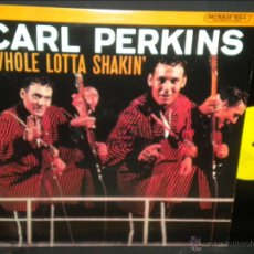 Discos de vinilo: CARL PERKINS WHOLE LOTTA SHAKIN LP STEREO CBS SPECIAL PRODUCTS P 18709 USA EX/EX++. Lote 40476242