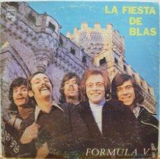 Discos de vinilo: FORMULA V - LA FIESTA DE BLAS (LP POLYDOR 1974) RARA EDICION VENEZOLANA. Lote 40481121